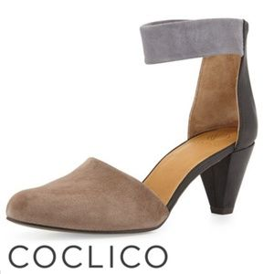 COCLICO Sly Ankle Strap Pump Womens Shoe Size 8.5